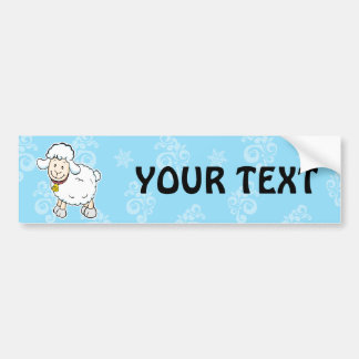 White Sheep bumper sticker