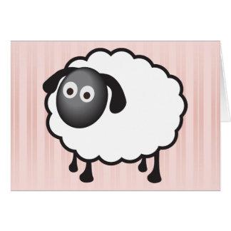 White Sheep Card