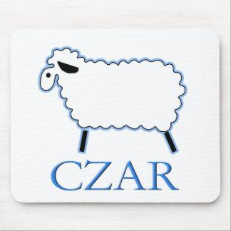 White Sheep Czar Mouse Pad