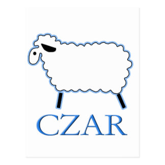 White Sheep Czar Post Cards