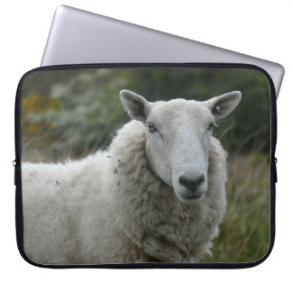 White Sheep Laptop Computer Sleeves
