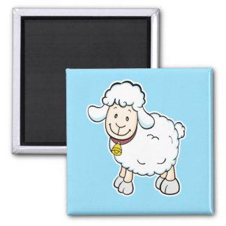 White Sheep magnet