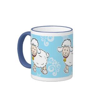 White Sheep Mug