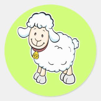 White Sheep sticker