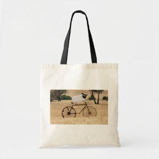 White Sheep Thrills Canvas Bag
