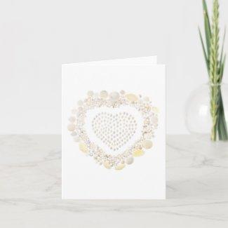 White Shell Valentine (vertical)