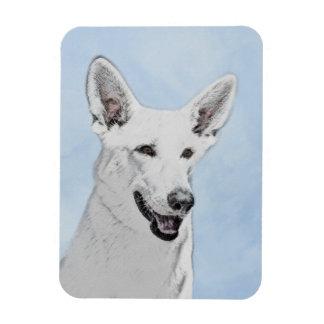 White Shepherd Magnet