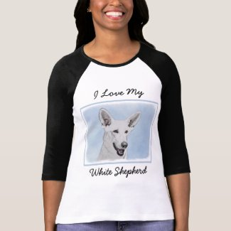 White Shepherd T-Shirt
