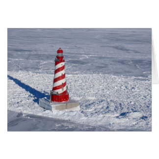 White Shoal Lighthouse Card