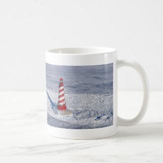 White Shoal Lighthouse Coffee Mug