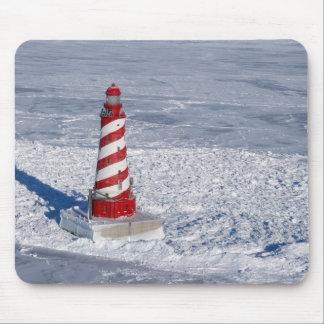 White Shoal Lighthouse Mouse Pad