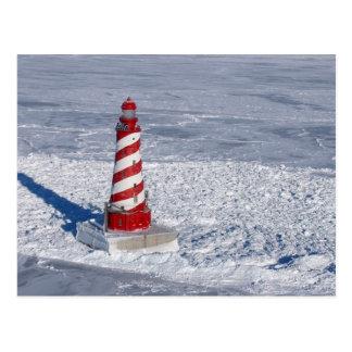 White Shoal Lighthouse Postcard