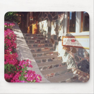 White Shopping at Mongoose Junction, St. John flow Mouse Pad