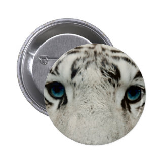 White Siberian Tiger Buttons