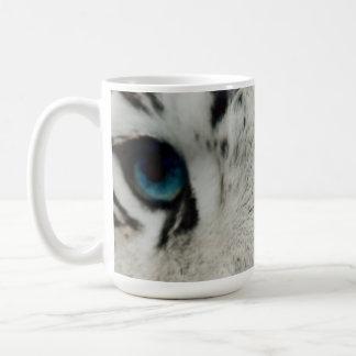 White Siberian Tiger Coffee Mug