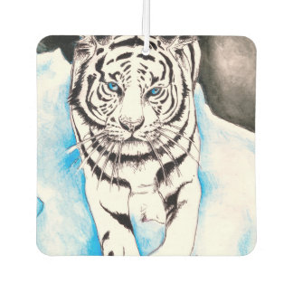 White Siberian Tiger Sow Air Freshener