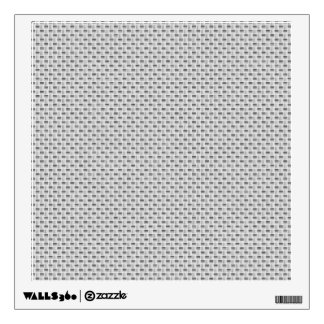 White Silver Carbon Fiber (Faux) Patterned Wall Decal