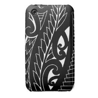 White silverfern New Zealand national symbol art iPhone 3 Cover