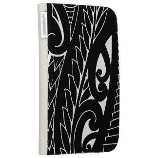 White silverfern New Zealand national symbol art Kindle Covers