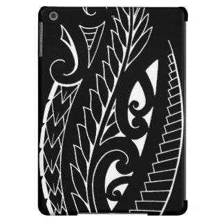 White silverfern New Zealand national symbol art iPad Air Covers