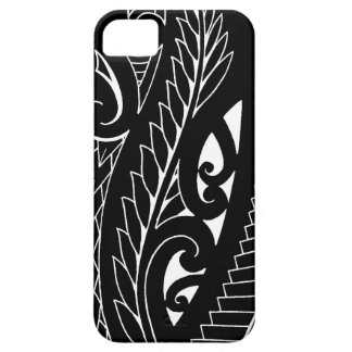 White silverfern New Zealand national symbol art iPhone SE/5/5s Case