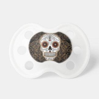 White Skull Baby Pacifier