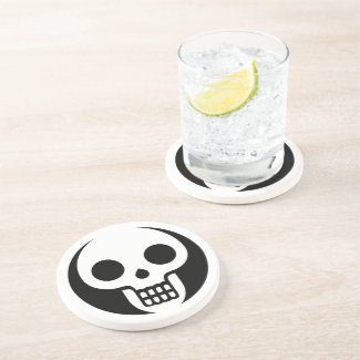 White Skull Coasters