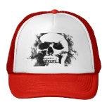 white skull hat
