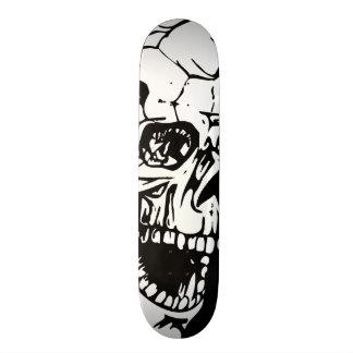 White Skull Skateboard Decks
