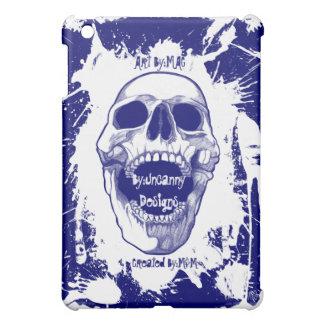 White Skull Splatter Speck® Fitted™Hard Shell iPad Case For The iPad Mini
