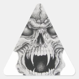 White Skull Stickers
