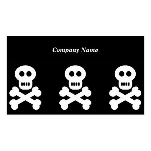 White Skulls, Company Name Business Card