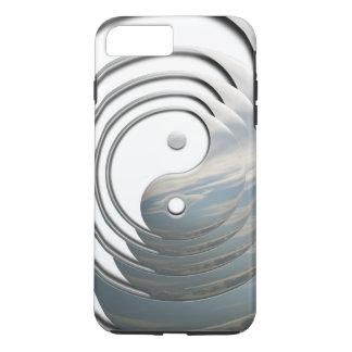 White Sky Yin Yang iPhone 7 Plus Case