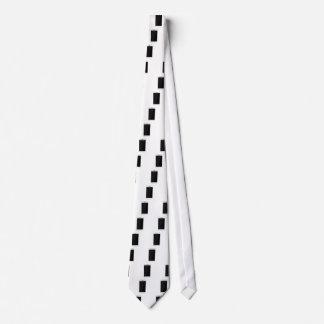 White smartphone neck tie