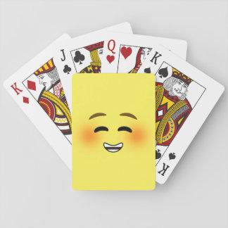 White Smiling Emoji Card Deck