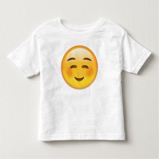 White Smiling Face Emoji T Shirt