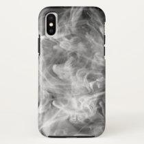 WHITE SMOKE APPLE IPHONE X TOUGH CASE