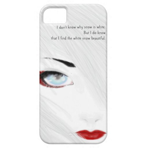 White Snow Geisha Phone Case iPhone 5 Covers