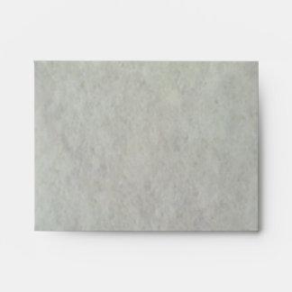 White Snow Pattern Envelopes