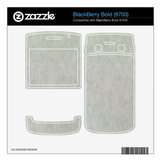 White Snow Pattern Decal For BlackBerry Bold