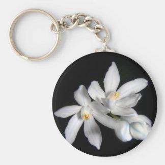 White Snowdrops Keychain