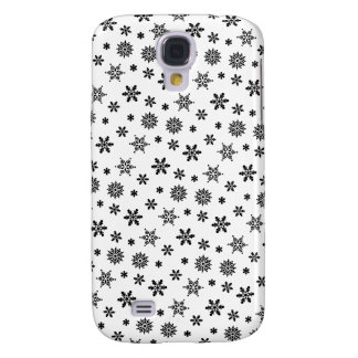 White Snowflakes Pattern iPhone 3G/3GS Case