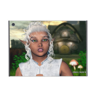 White Sorceress iPad Mini Cover