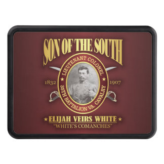 White (SOTS2) Trailer Hitch Cover