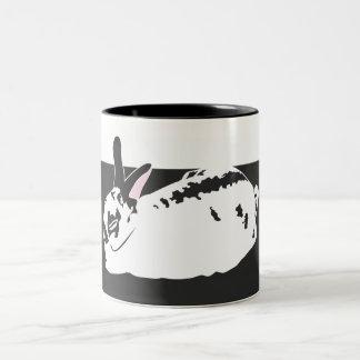 WHITE SPACE Two-Tone COFFEE MUG