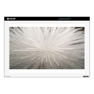 """White Spark 17"""" Laptop Skin"""