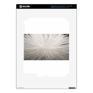 White Spark Decal For iPad 3