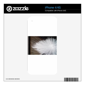 White Spark Skin For The iPhone 4