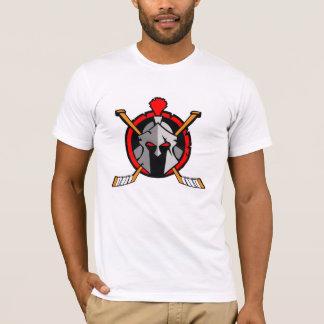 White Spartan Logo T-Shirt