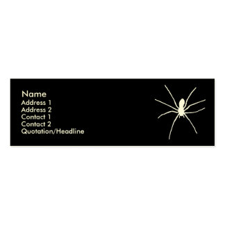 White Spider Business Card